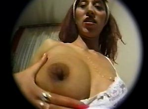 Pregnant Latina with an Incredibly Hairy Monster Bush